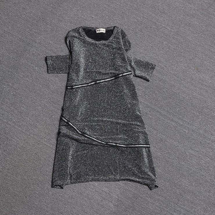 Top La Européenne Ample 2019 shirt Nouvelle Lumineux Dans Soie T Mode Printemps De Longue Section Grand ZSBrwZq
