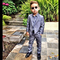 New Arrive Two Button Boys Wedding Suit Costume Mariage Boy Kids Evening Gowns Ring Bearer Suit Hot Sale