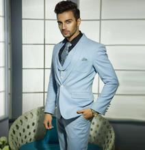 new Men's suitsl Custom Made Men Suit latest jacket+ pant designs one button Wedding Suits For Men formal occasion suit