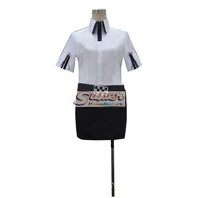 DJ DESIGN Steins Gate Kiriyu Moeka Uniform COS Clothing Cosplay Costume