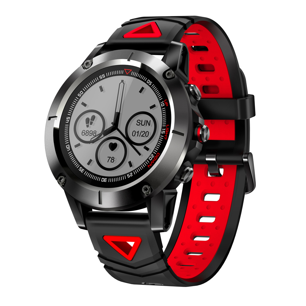 G01 Wristwatch GPS Smart Watch Waterproof Blood Pressure Oxygen Heart Rate Compass Swimming Sports Smartwatch for Android IOS volemer gps smart watch ip68 waterproof sports heart rate monitor bluetooth wristband oxygen compass smartwatch for android ios
