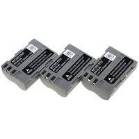 3PCS Battery EN EL3e EN EL3e ENEL3e Rechargeable Camera Battery For Nikon D70 D90 D80 D100