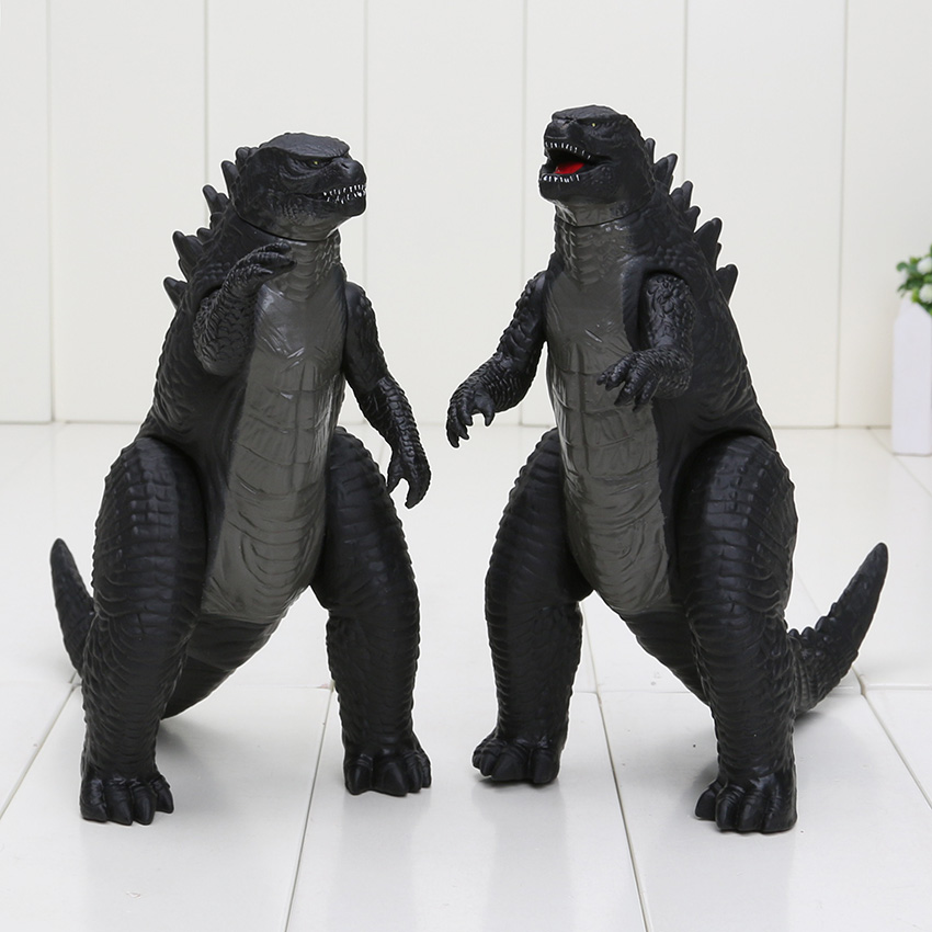 18cm Godzilla PVC Action Figure Toy Furnishing Article Joint Moved Collectible Figure Model Toy Christmas Gift For Children N029 high quality resin bichon frise dog figure car styling home room decoration love poodle decorative article christmas gift toy