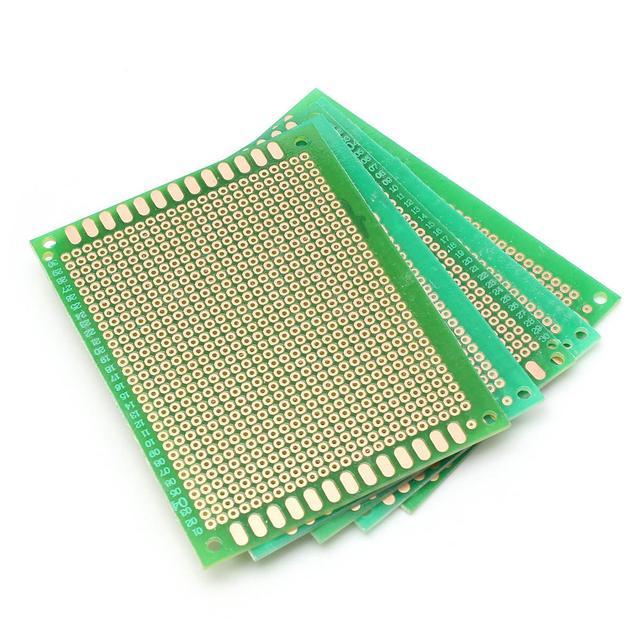 2017 New Arrival 5Pcs 70x90mm DIY Soldering Prototype Copper PCB Printed Circuit Board 7x9cm