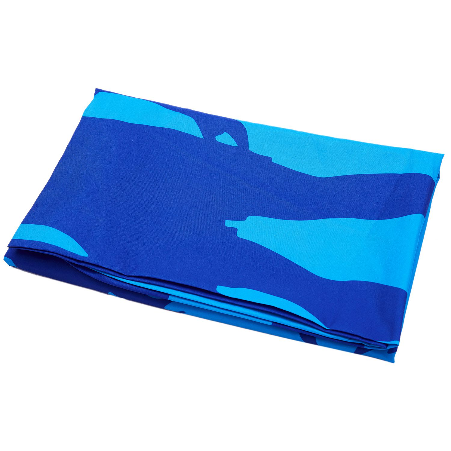 Travel Yoga Mat Or Towel: Hot Sale Polyester Skateboard Man And Beach Blue Towel
