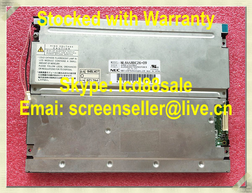 best price and quality  NL6448BC26-09  industrial LCD Display