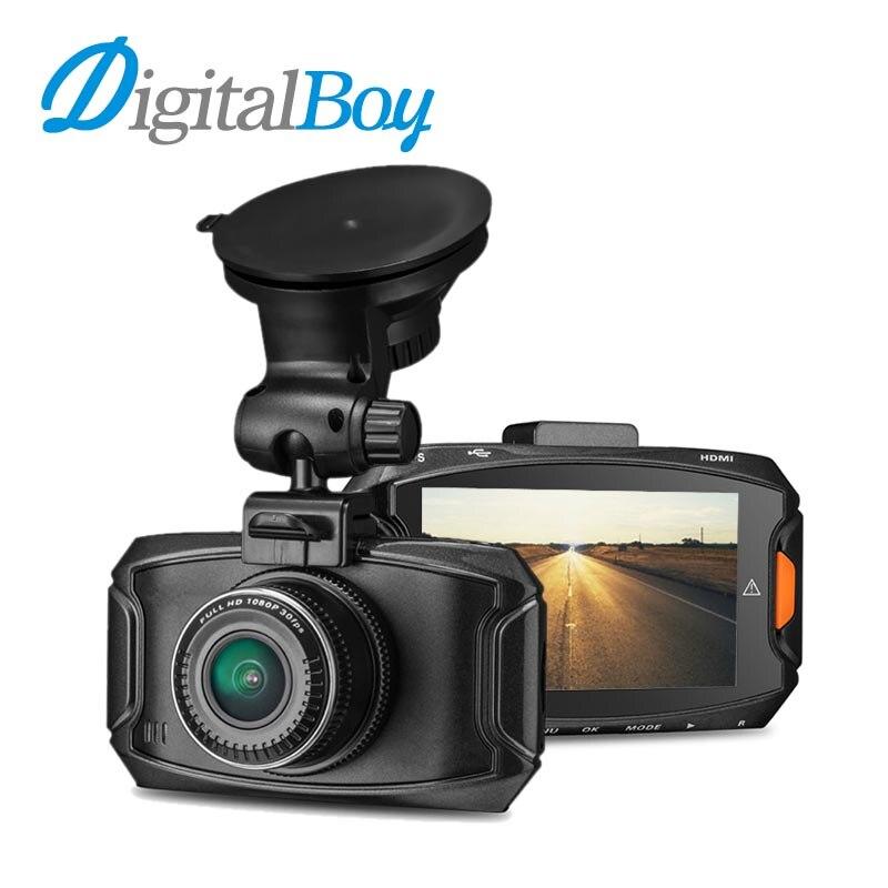 Digitalboy Car Camera Ambarella 1296P Car Dvr Auto Video Recorder 170 Degree HDR H.264 Dash Cam Camcorder with GPS Logger Dvrs dealcoo car dvr ambarella a7l50 car video recorder dash cam full hd 1296p 30fps 2 7 lcd g sensor hdr h 264 car camera gps gs90a