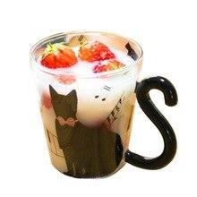 Urijk Горячая Модная Портативная чашка Милая креативная стеклянная кружка для заваривания чая чашка для кофе с молоком домашняя офисная чашка пара очков чашка кружки
