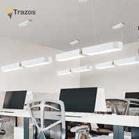 Lámpara colgante led blanca o negra con forma de arco de 1000mm de longitud  moderna lámpara colgante led para comedor  Bar  cocina  habitación  lámpara colgante|Luces colgantes| |  -
