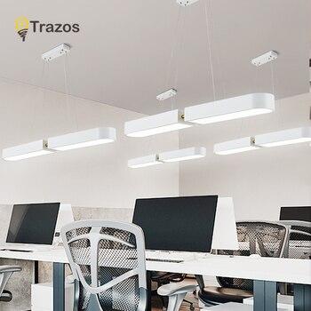 Longueur 1000mm ARC forme blanc ou noir led lampe suspendue moderne pendentif led lumières pour salle à manger Bar cuisine chambre suspension lampe