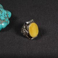 #9 Handcrafted Nepalese 925 Silver Ring 925 Sterling Good Luck Ring Tibetan 925 Silver Man Ring