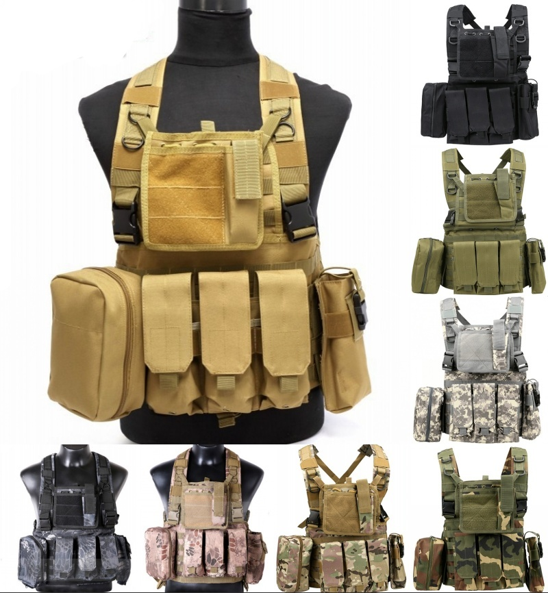 CQC RRV Molle Airsoft Tactical Vest Military Combat Assault Chest Rig Paintball Police Body Armor Hunting Vest патриция вентворт ключ