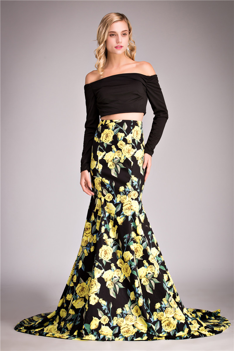 Online Get Cheap Printed Prom Dresses -Aliexpress.com  Alibaba Group