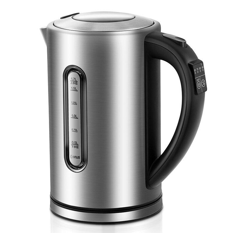 Электрический чайник Donlim из нержавеющей стали 304, автоматическое отключение, защита от глажки и сохранения тепла