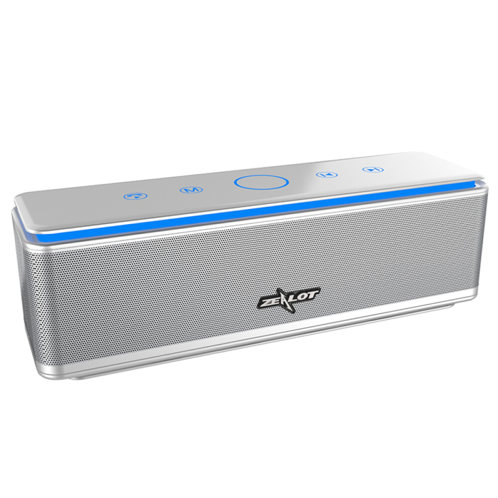 Image 2 - ZEALOT S7 3D Bass Stereo Wireless Speaker Bluetooth Soundbar 
