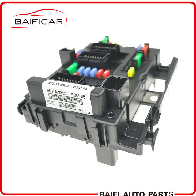brand new genuine fuse box unit assembly under bonnet 9657608580 bsm b5 for  lancia phedra fiat ulysse citroen c8 peugeot 307 807