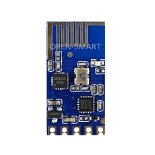 OPEN-SMART SMD 2.4G Wireless Serial Transparent Transceiver Module for Arduino Wireless to Serial Port Compatible with 3.3V / 5V