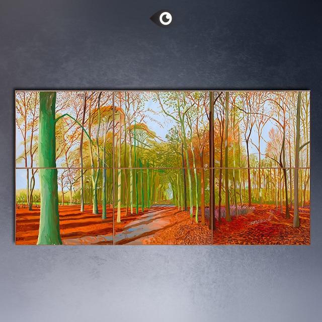 david hockney une plus grande peinture l 39 huile abstraite norme tailles giclee affiche. Black Bedroom Furniture Sets. Home Design Ideas
