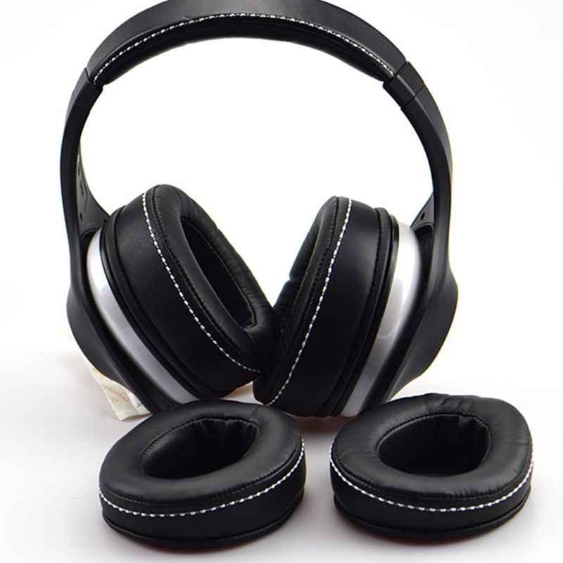 1 para gąbki do słuchawek Earpads gąbka miękka poduszka z pianki zamiennik dla DENON AH D600 AH D7100 słuchawki