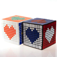 1Pcs Hot Sale Classic Toys 11 Layers 11x11x11 ABS Cube Speed Magic Puzzle Educational Cubo Magico Toys For Children Gifts