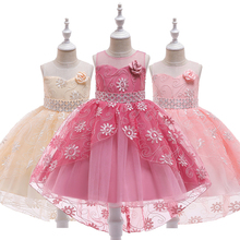 Girl Dress Bridesmaid Pageant Gown Teens Kids Dresses For Girls Birthday Party Wedding Sequins Tuxedo Children Clothes