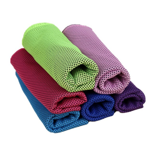 Sport Cooling Towel Ice Towel Summer Ice Cold Towel PVA Hypothermia Quick-Dry Yoga Gym Outdoor Towel