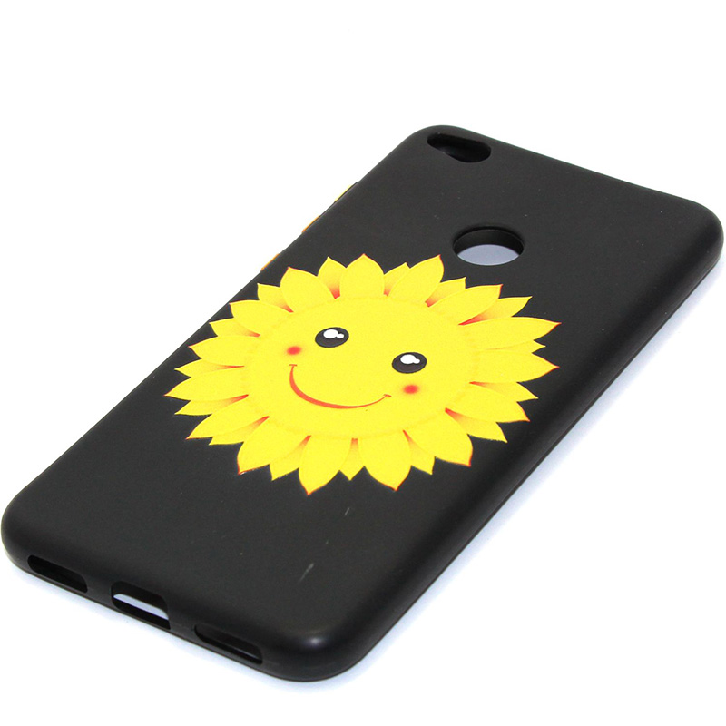 3D Relief flower silicone case huawei p8 lite 2017 honor 8 lite (21)