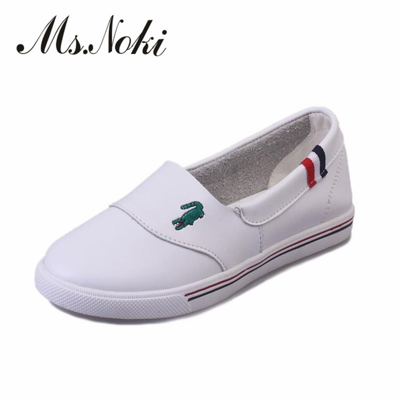 2016 summer autumn flat moccasins new shoes womens Slip On Loafers white Splice Platform causal shoes