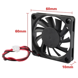Image 5 - 3D Printer Accessories 6010 24V Extruder Oil Bearing Cooling Fan 4Pcs For 3D Printer, Engraving Machine,Cutting Machine