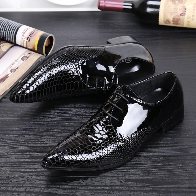 Black Classic high quality genuine leather oxfords pointed lace up wedding oxford shoes men sapato masculino large size EU46 цены онлайн