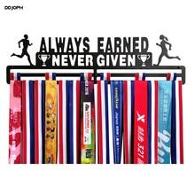 Rak display pemegang medali Peraih medali maraton Pemegang medali runner Selalu mendapatkan medali olahraga yang diberikan