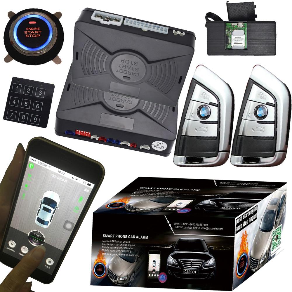 buy 2018 year gps gsm pke car alarm. Black Bedroom Furniture Sets. Home Design Ideas