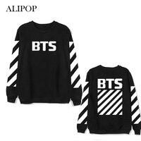 ALIPOP Kpop BTS Bangtan Boys Album Hoodie Hip Hop Casual Loose Hoodies Clothes Pullover Printed Long