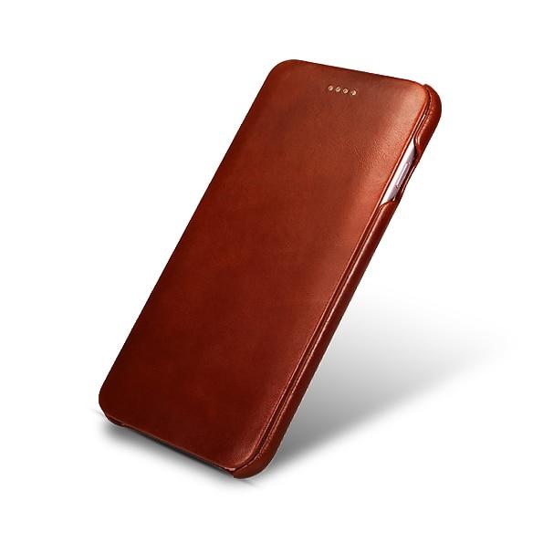 Original ICARER-korthållare äkta läderfodral för iPhone6 6s - Reservdelar och tillbehör för mobiltelefoner - Foto 5