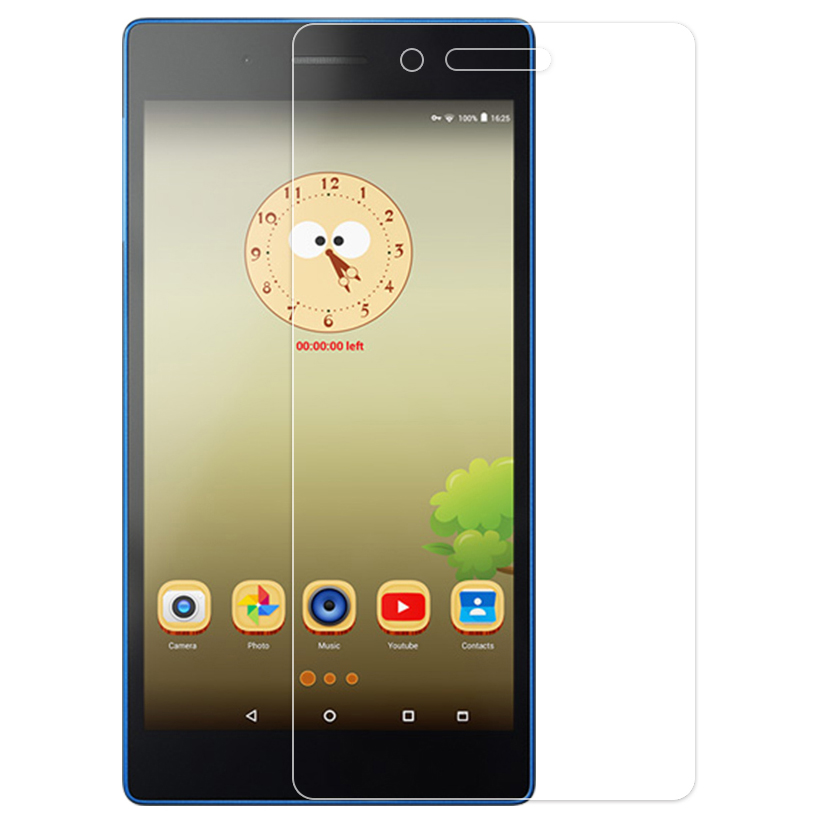 IBuyiWin Tempered Glass Screen Protector Film For Lenovo Tab 3 7 730F 730M 730X Tab3 7 7.0 TB3-730M TB3-730F TB3-730X Glass Film