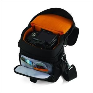 Image 4 - Lowepro aventua 120 appareil photo reflex numérique Triangle sac à bandoulière housse de pluie Portable taille boîtier étui pour Canon Nikon