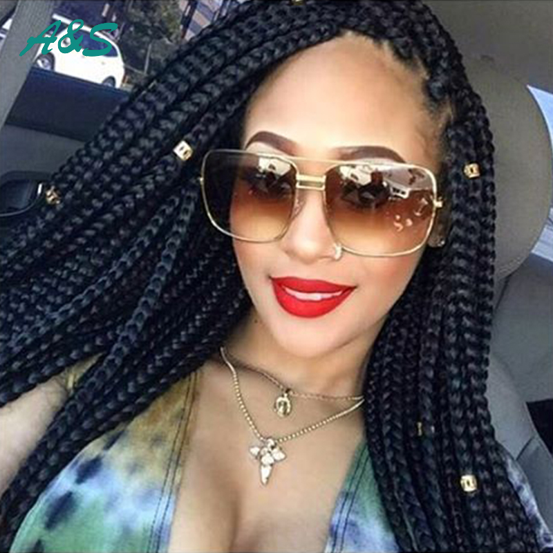 Crochet Box Braids Wig : ... Braiding Hair Senegalese Twist Hair Box Braid Extensions Crochet Braid
