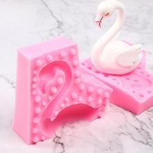 3D Flamingo Unicorn Rabbit Cake Silicone Mold Cake Decoratin