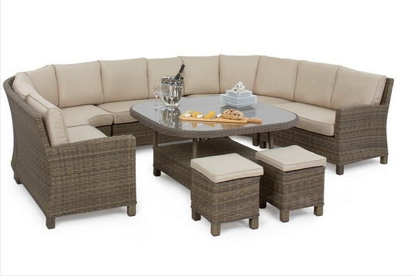 Beau 2017 Trade Assurance Casual Outdoor Furniture Wicker Sectional Dining Sofa  Sets