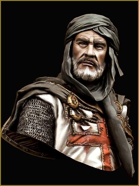 49--Templar Knight In Jerusalem