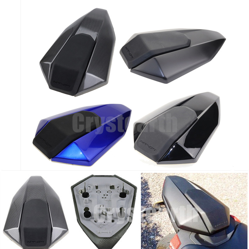 For 2013 2014 2015 2016 2017 Yamaha FZ-07 MT-07 MT07 FZ07 MT 07 FZ 07 Motorcycle Rear Passenger Solo Seat Cowl Fairing Cover for yamaha mt 07 2013 2017 fz 07 2015 2017 motorbike mt07 mt 07 fz07 fz 07 cnc rearset foot pegs rear sets footpedals