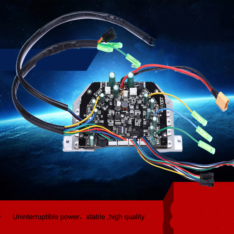 Hoverboard Electric Scooter Motherboard Control Board PCBA for Oxboard 6.5 8 10 2 Wheels Self Balancing Skateboard Hover Board no tax to eu ru four wheel electric skateboard dual motor 1650w 11000mah electric longboard hoverboard scooter oxboard