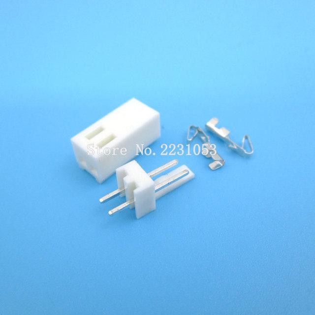 20 ensembles KF2510-2P KF2510 2 broches 2.54mm pas Terminal/boîtier/broche en-tête connecteur adaptateur