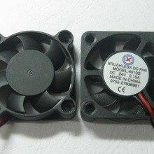 1 шт. Бесщеточный вентилятор охлаждения постоянного тока 7 лопастей 4010 S 24 V 40x40x10 мм