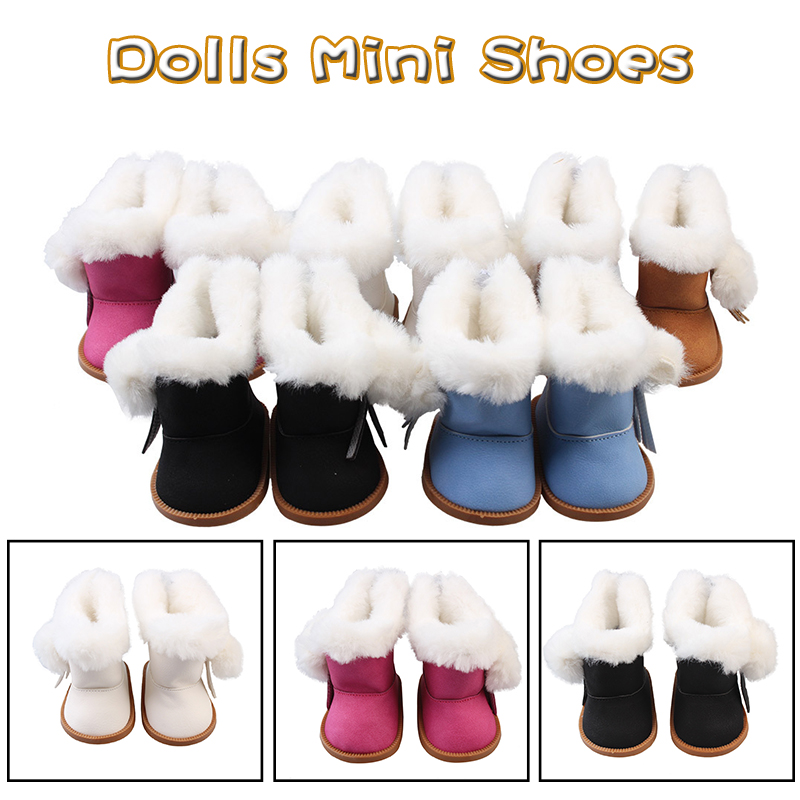 Bjd Doll Shoes Zapf Dolls Accessories antistress american girl doll clothes baby born clothes 43cm 18 inch doll clothes 7cm boot