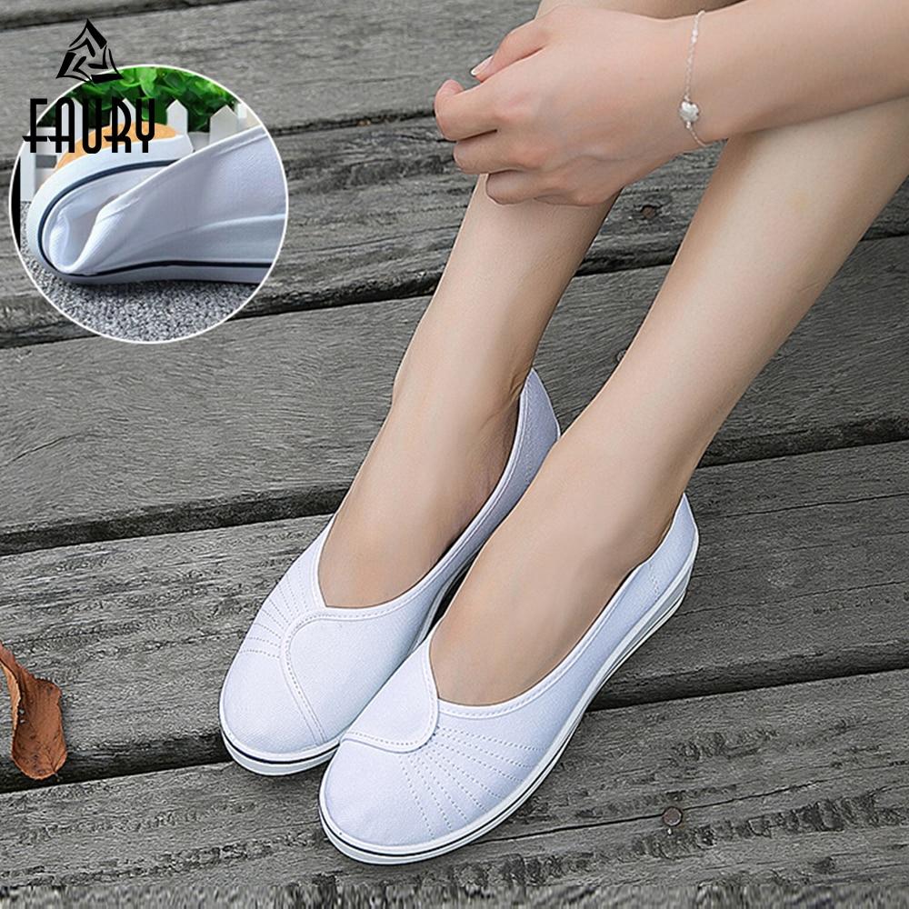 Women Nurse Shoes Comfortable Female Medical Shoes Summer Hospital Comfortable Soft Bottom Anti-Slip Doctor Nurse Work Shoes