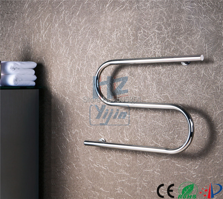Heated Towel Rail Timer Wiring Diagram: S Shape Concealed/Exposed Wiring Heated Towel Rail