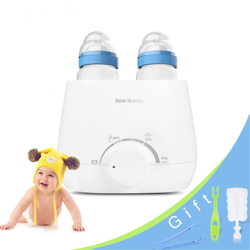 Bottle Warmer Multifunction Smart Baby Milk Heating Milk Bottle Sterilizer Thermostat Warmer Disinfection Food Egg Steam Heating constant temperature heat insulation double milk bottle sterilizer multifunction baby bottle warmer