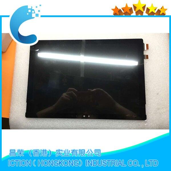 Oryginalny LCD montaż dla microsoft surface Pro 4 (1724) LTN123YL01-001 ekran LCD z dotykowy digitizer montaż 2736x1824