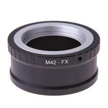 Adaptateur dobjectif dappareil photo M42 FX M42 M 42 objectif pour Fujifilm X Mount pour Fuji X Pro1 X M1 X E1 anneau adaptateur X E2